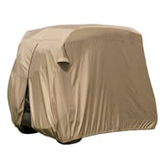 Classic Accessories® Fairway™ Four Person Golf Cart Easy On Cover, Tan