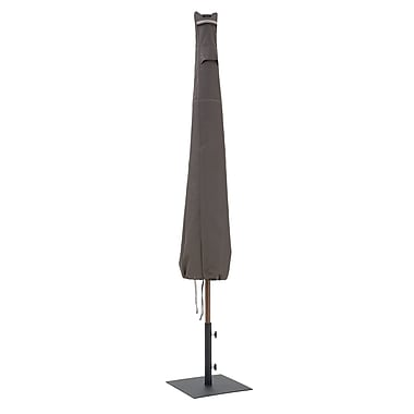 Classic Accessories® Ravenna® Patio Umbrella Cover, Dark Taupe
