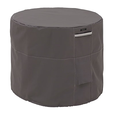 Classic Accessories Ravenna Patio Round Air Conditioner Cover, Dark Taupe 459581