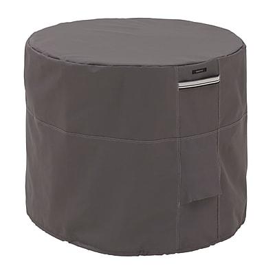 Classic Accessories Ravenna Patio Round Air Conditioner Cover, Dark Taupe 459581