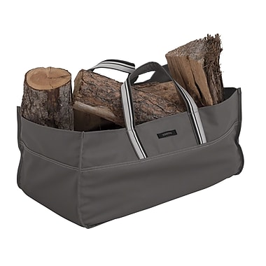 Classic Accessories® Ravenna® Jumbo Log Carrier, Dark Taupe