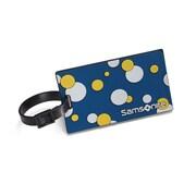 Samsonite® Bubbles ID Tag, Blue