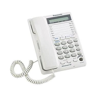 PanasonicMD – Téléphone haut-parleur à 2 lignes avec écran ACL et port de données