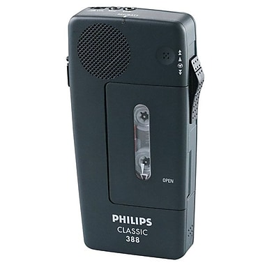 Philips® Pocket Memo Dictation recorder, Black