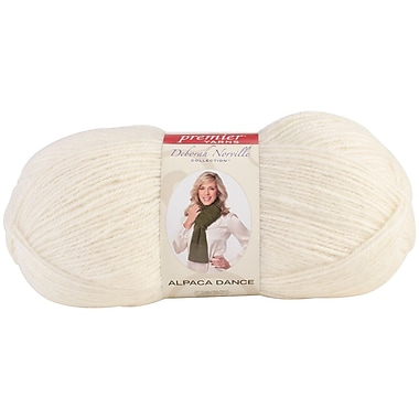 Deborah Norville Collection Alpaca Dance Yarn, Snow White