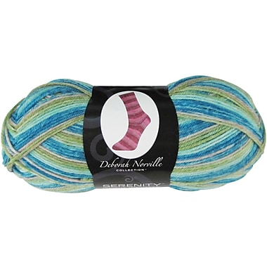Deborah Norville Collection Serenity Sock Yarn, Surf