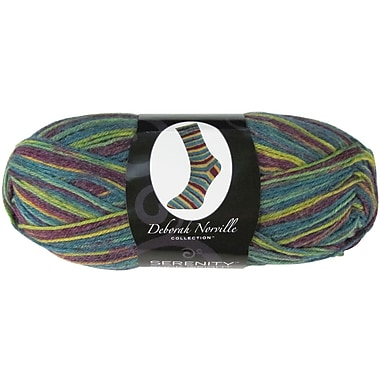 Deborah Norville Collection Serenity Sock Yarn, Harlequin