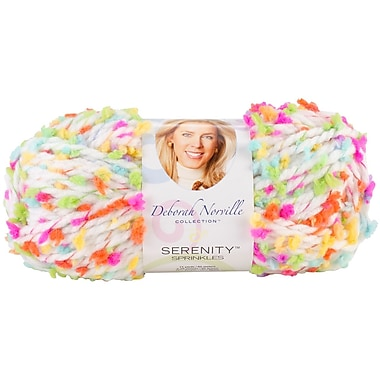 Deborah Norville Collection Serenity Chunky Sprinkles Yarn, Playdate