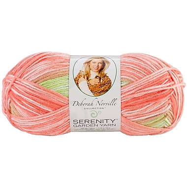 Deborah Norville Collection Serenity Garden Yarn, Orange Tree