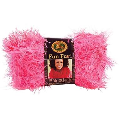 Fun Fur Yarn, Flamingo