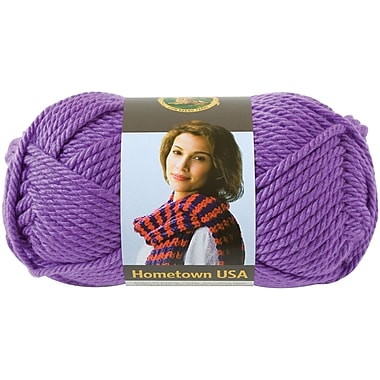 Hometown USA Yarn, Minneapolis Purple