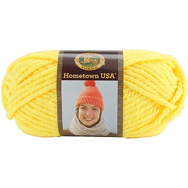 Hometown USA Yarn, Neon Lemon