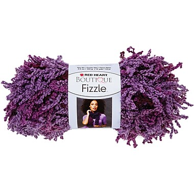 Red Heart Boutique Fizzle Yarn, Figs