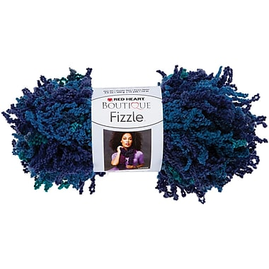 Red Heart Boutique Fizzle Yarn, Bluefin