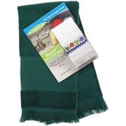 Maxton Velour Guest Towel 12X19-1/2, Hunter Green