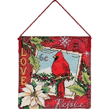 Gold Collection Petites Love Ornament Counted Cross Stitch K-4-1/2