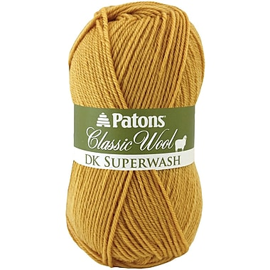 Classic Wool DK Superwash Yarn, Gold