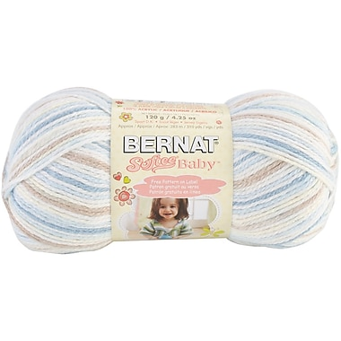 Softee Baby Yarn, Ombres, Little Boy Blue