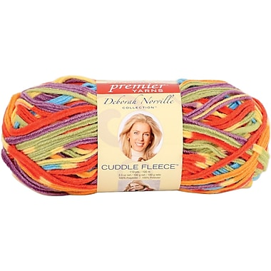 Deborah Norville Cuddle Fleece Stripes Yarn