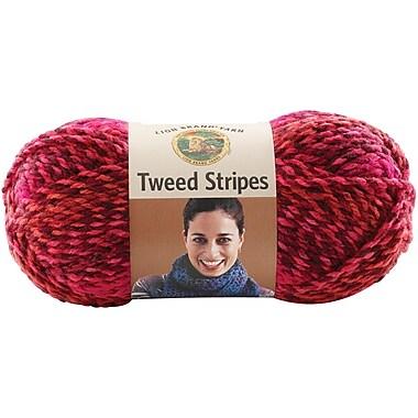Tweed Stripes Yarn, Mixed Berries