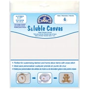 "Soluble Canvas 14 Count 8""X8-1/2"", White"