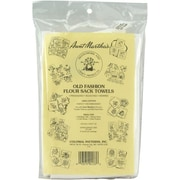 "Flour Sack Towels 33""X38"" 2/Pkg, White"