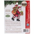 Susan Winget Santa W/Bag Ornament Counted Cross Stitch Kit, 3-1/2in.X4-3/4in. 14 Count Plastic Canvas