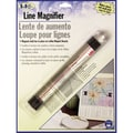 LoRan Magnetic Line Magnifier, 7/8in.X6-1/2in.