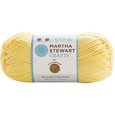 Martha Stewart Extra Soft Wool Blend Yarn, lemon chiffon