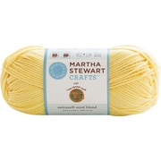 Martha Stewart Extra Soft Wool Blend Yarn, lemon chiffon