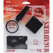ValuePak Magnifiers, 3 Pieces