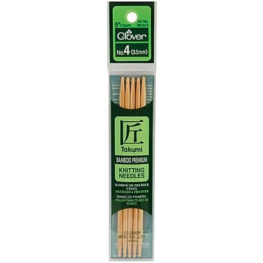 Takumi Bamboo Double Point Knitting Needles 5