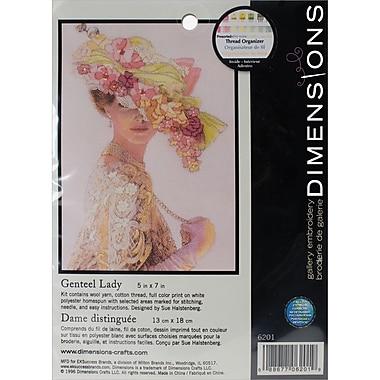 Genteel Lady Mini Crewel Kit, 5