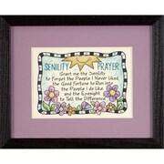 "Senility Prayer Mini Stamped Cross Stitch Kit, 7""X5"""