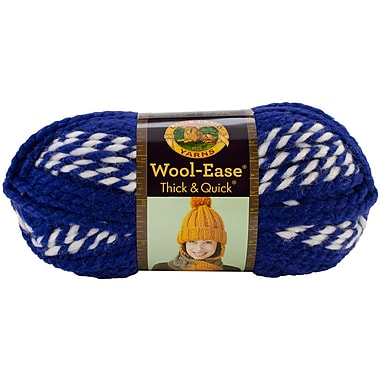 Wool-Ease Thick & Quick Yarn, Huskies Stripes