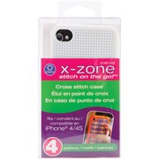 iPhone 4 Case Counted Cross Stitch Kit, White