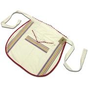 "Vintage Stripe Waist Apron 28""X26"", Multi Stripe"