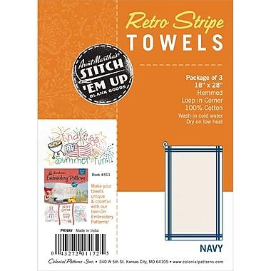 Vintage Stripe Towel 18