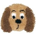 Huggables Puppy Pillow Latch Hook Kit
