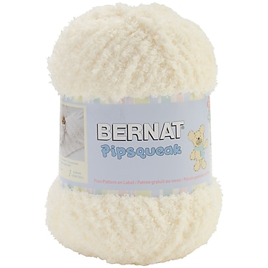 Pipsqueak Big Ball Yarn, Vanilla