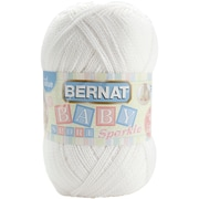 Baby Sport Big Ball Yarn, Sparkle, White Sparkle