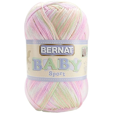 Baby Sport Big Ball Yarn, Ombres, Tiny Tulips