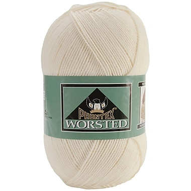 Phentex Worsted Solids Yarn, Natural