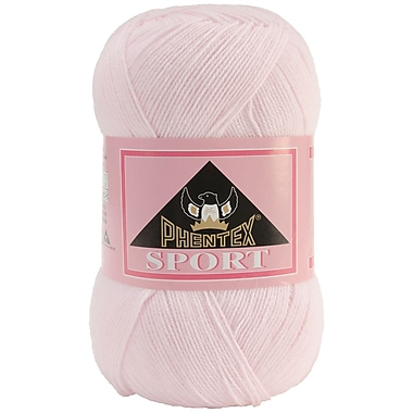 Phentex Sport Solids Yarn, Pink
