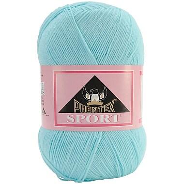 Phentex Sport Solids Yarn, Popsicle Blue