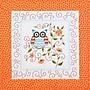 Owl Quilt Blocks Stamped Cross Stitch Kit, 15X15