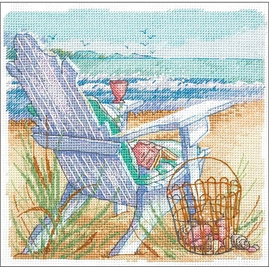 Gold Collection Petite Tide View Counted Cross Stitch Kit, 6