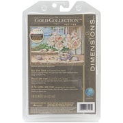 """Gold Collection Petite By The Sea Counted Cross Stitch Kit, 7""""X5"""" 18 Count"""