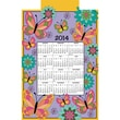 Butterflies 2014 Jeweled Felt Calendar Kit, 16in.X24in.