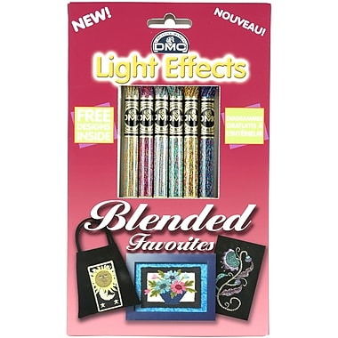 DMC Light Effects Floss Pack, Blended Favorites